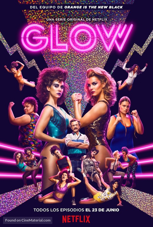 """GLOW"" - Spanish Movie Poster"