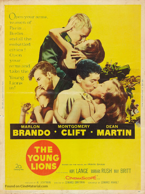 The Young Lions - Movie Poster