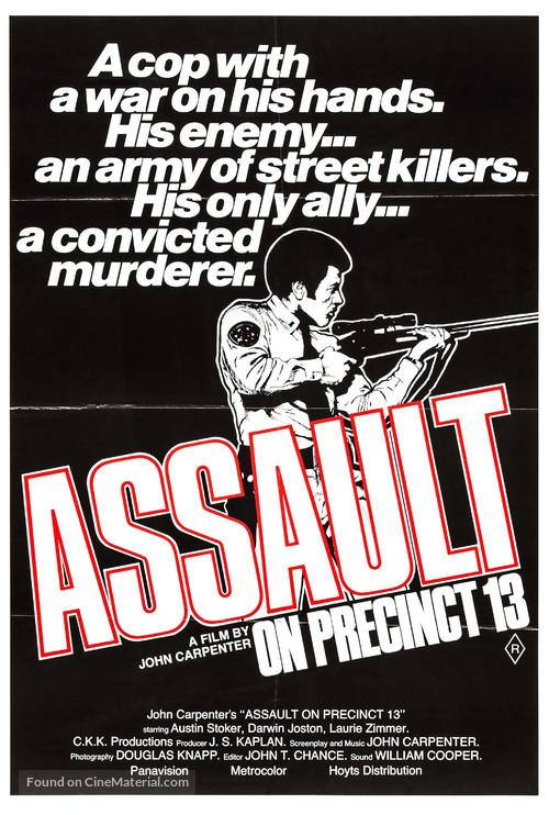 Assault on Precinct 13 - Australian Movie Poster