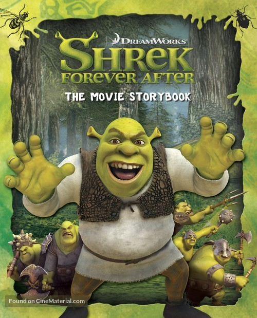 Shrek Forever After - Movie Cover
