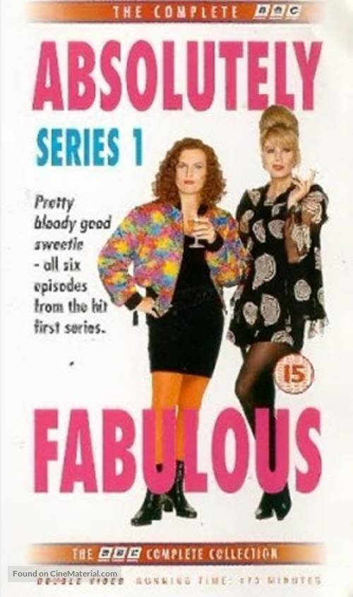 """Absolutely Fabulous"" - British VHS movie cover"