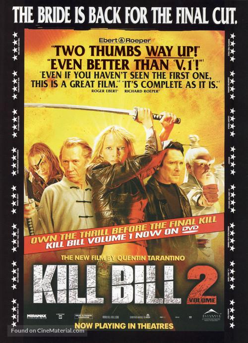 Kill Bill: Vol. 2 - Movie Poster