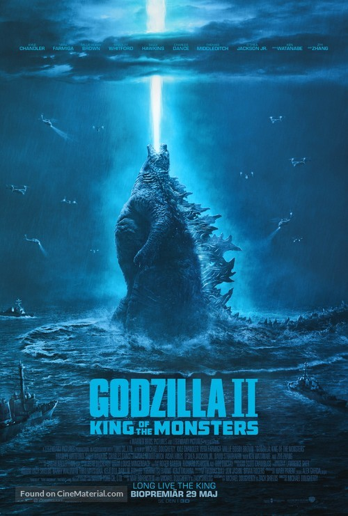Godzilla: King of the Monsters - Swedish Movie Poster