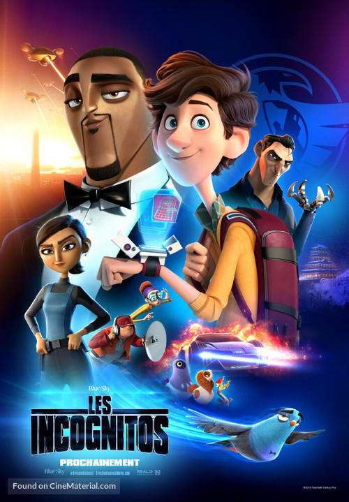 Spies in Disguise - Swiss Movie Poster