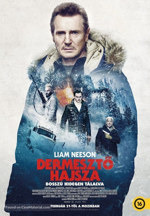 Cold Pursuit - Hungarian Movie Poster