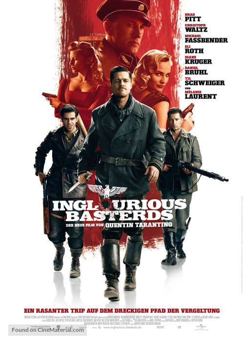 Inglourious Basterds - German Movie Poster