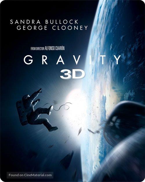 Gravity - British Blu-Ray cover