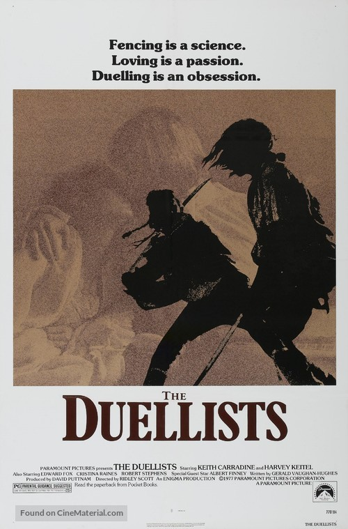 The Duellists - Movie Poster