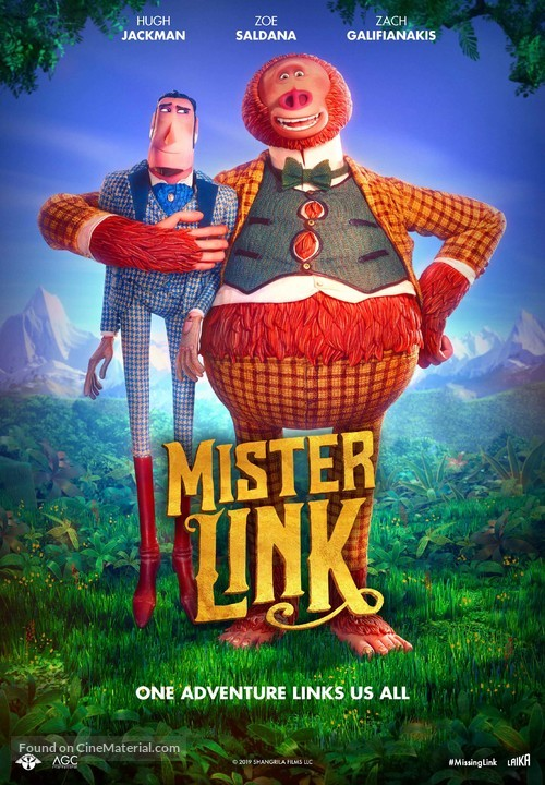 Missing Link - Swiss Movie Poster