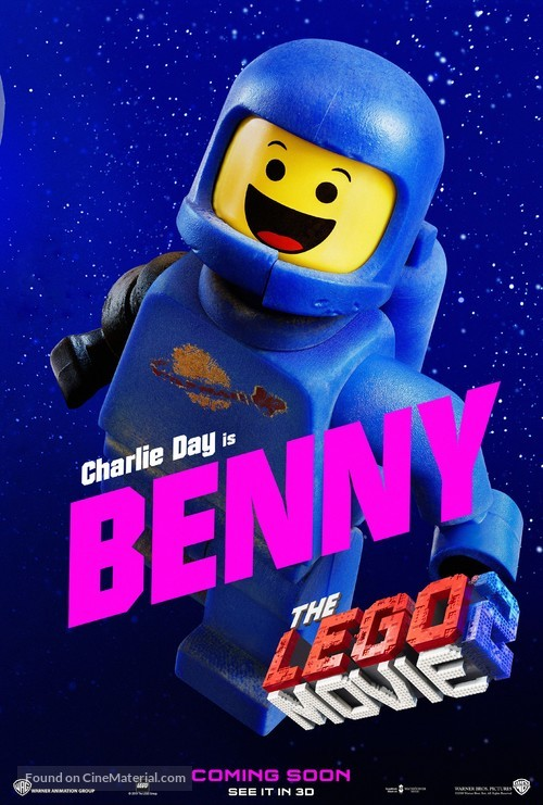 The Lego Movie 2: The Second Part - British Movie Poster