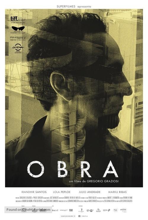 Obra - Brazilian Movie Poster