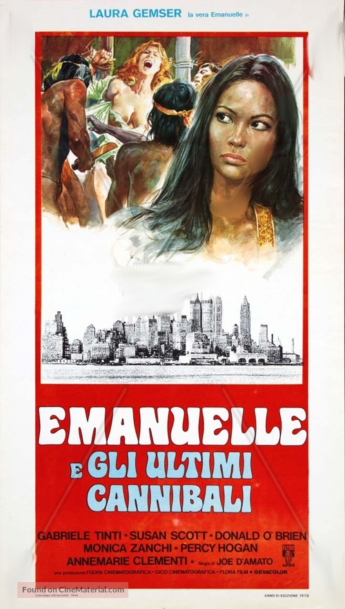 Emanuelle e gli ultimi cannibali - Italian Movie Poster