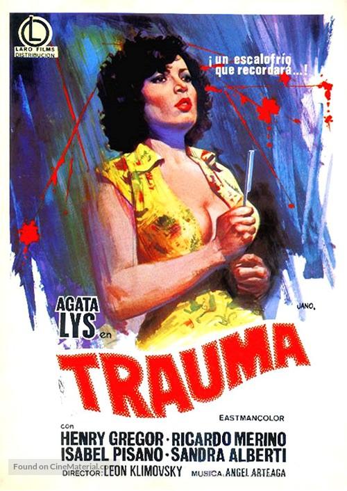 Violación fatal - Spanish Movie Poster