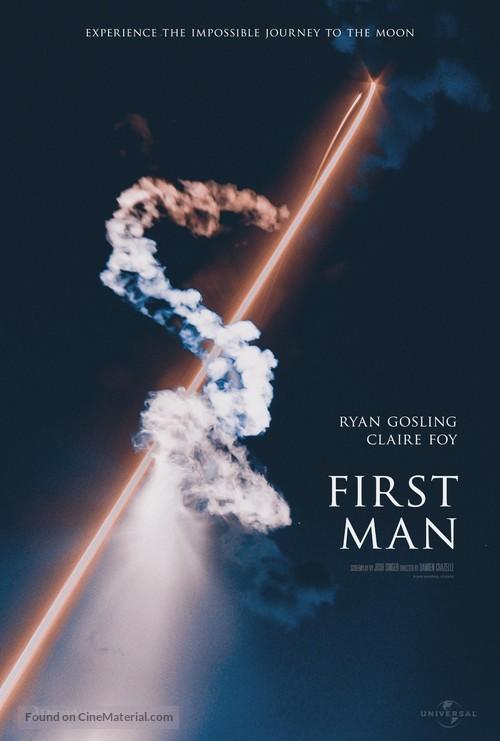 First Man - Movie Poster
