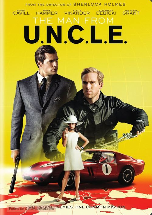 The Man from U.N.C.L.E. - DVD movie cover