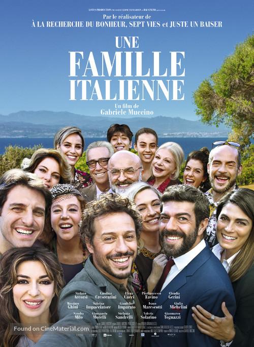 A casa tutti bene - French Movie Poster