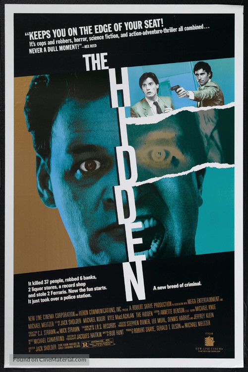 The Hidden - Movie Poster