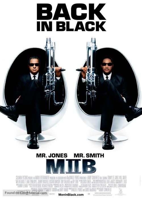 Men In Black II - Swedish Movie Poster