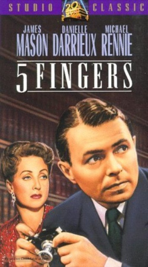5 Fingers - VHS cover