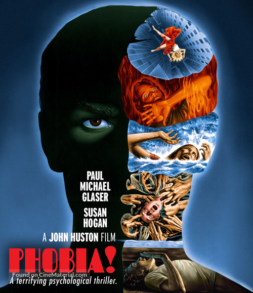 Phobia - Blu-Ray movie cover