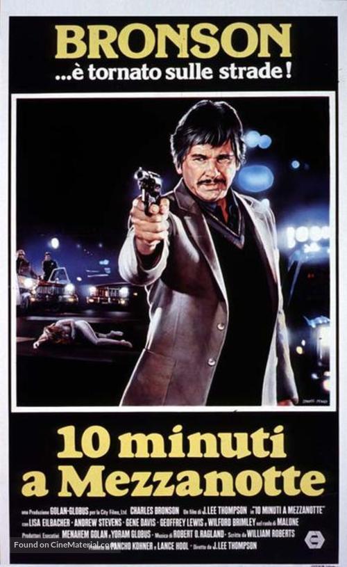 10 to Midnight - Italian Movie Cover