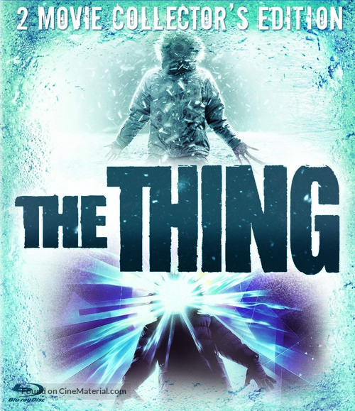 The Thing - Blu-Ray movie cover