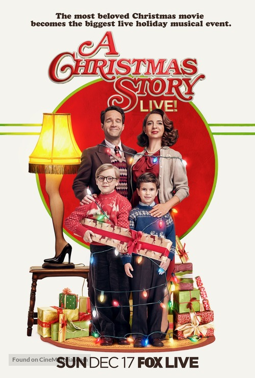 A Christmas Story Live! - Movie Poster