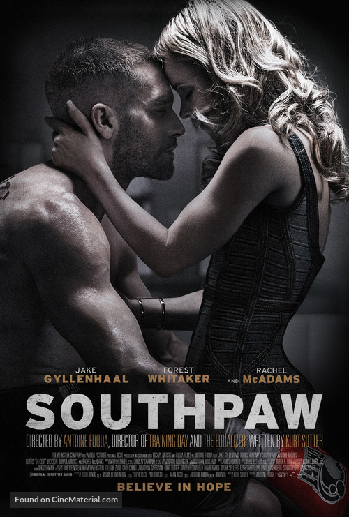 Southpaw - Theatrical poster