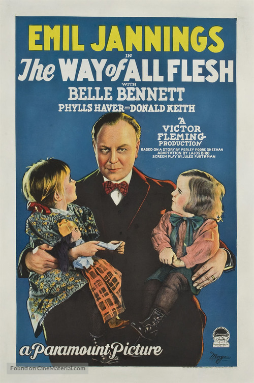The Way of All Flesh - Movie Poster