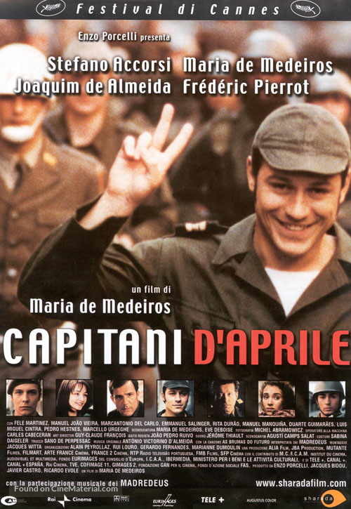 Capitães de Abril - Italian Movie Poster