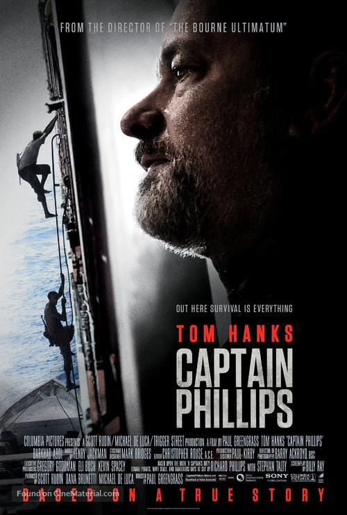 Captain Phillips - Movie Poster