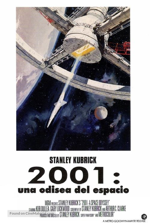 2001: A Space Odyssey - Spanish Movie Poster