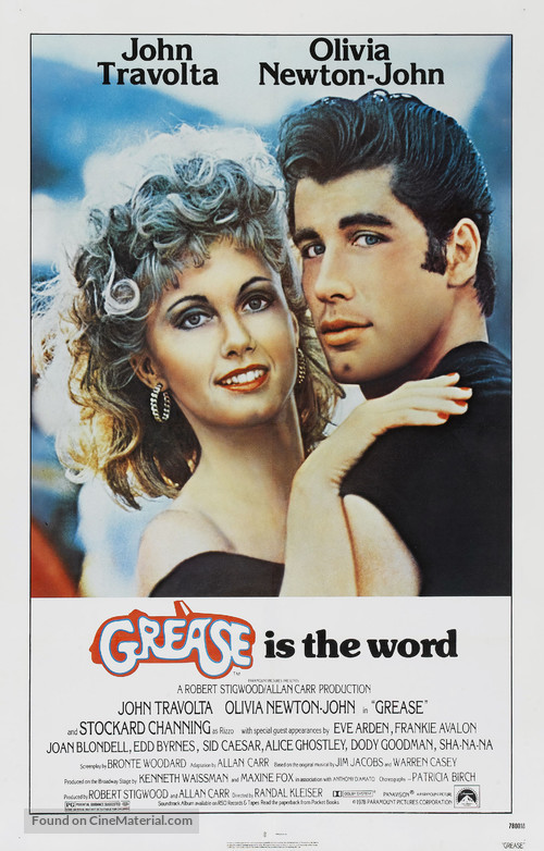 Grease - Movie Poster