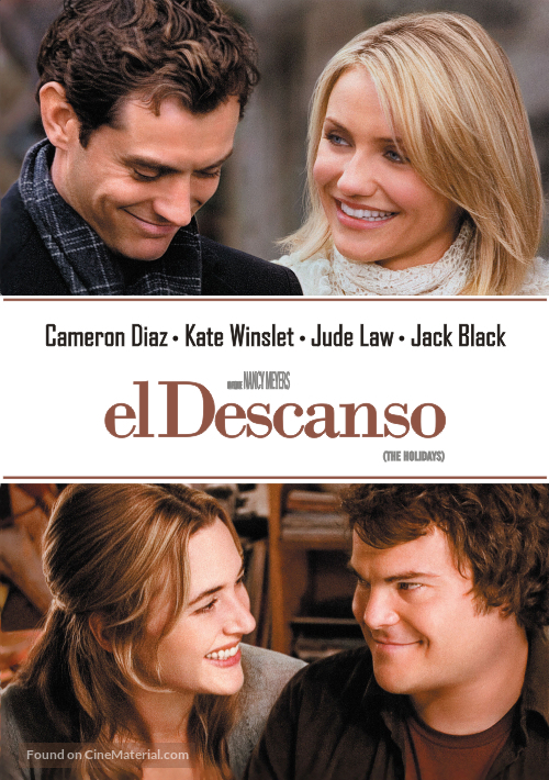 The Holiday - Argentinian Movie Poster