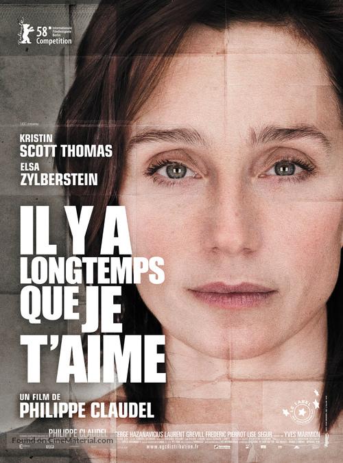Il y a longtemps que je t'aime - French Movie Poster