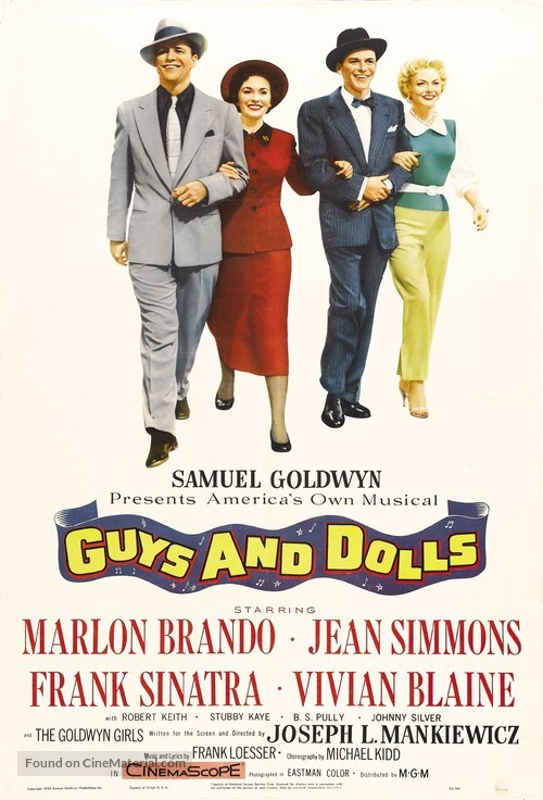 Guys and Dolls - Movie Poster