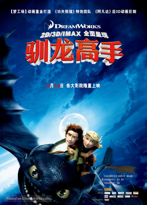 How to Train Your Dragon - Chinese Movie Poster