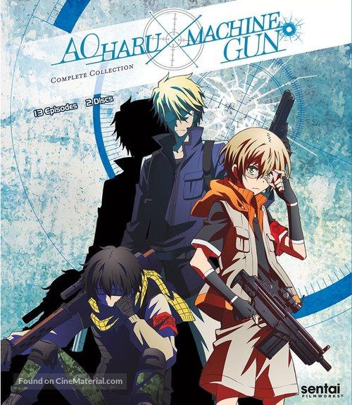 """Aoharu X Machinegun"" - Blu-Ray cover"