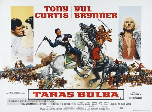 Taras Bulba - British Movie Poster