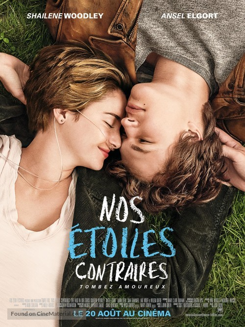 The Fault in Our Stars - French Movie Poster