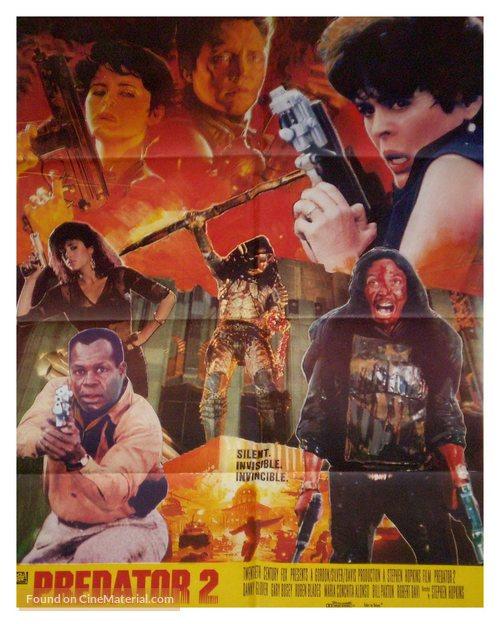 Predator 2 - Pakistani Movie Poster