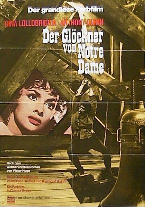 Notre-Dame de Paris - German Re-release poster