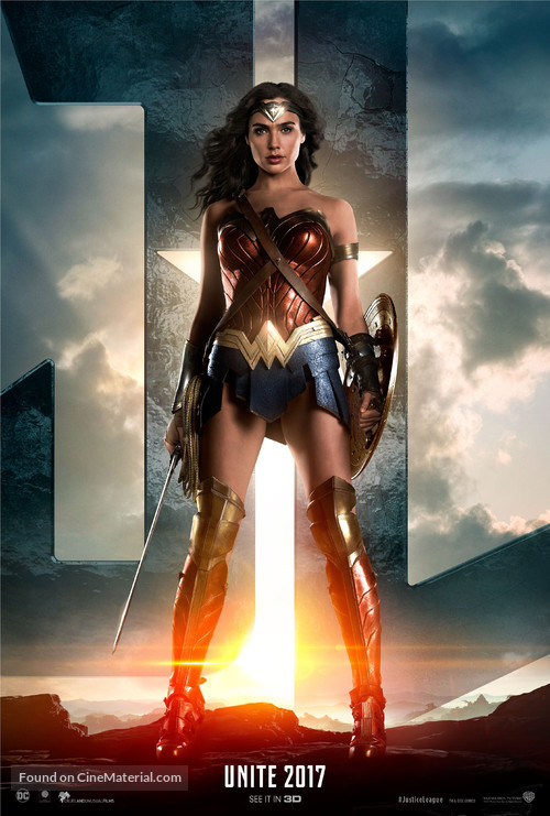 Justice League - British Movie Poster