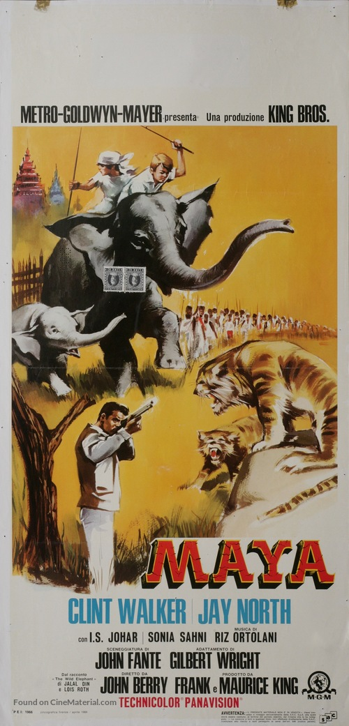 Maya - Italian Movie Poster