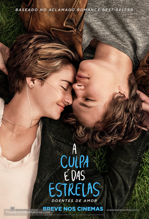 The Fault in Our Stars - Brazilian Movie Poster