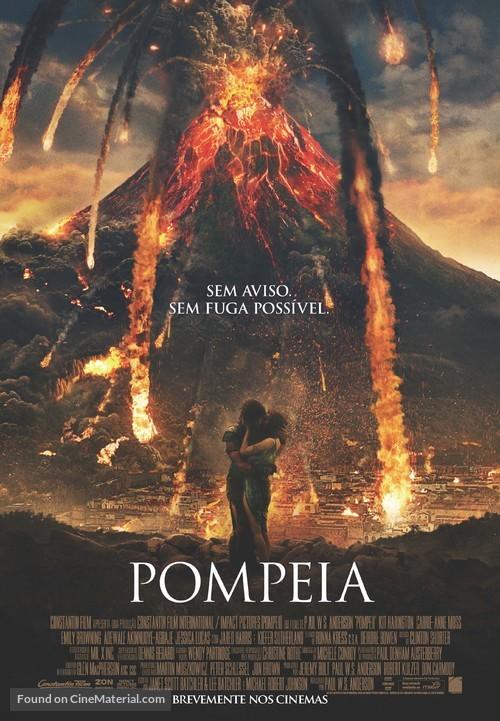 Pompeii - Portuguese Movie Poster