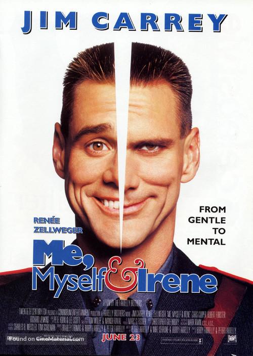 Me, Myself & Irene - Movie Poster