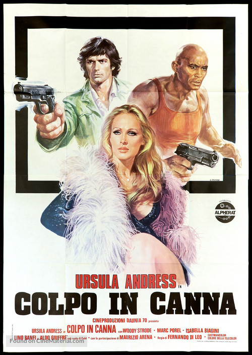 Colpo in canna - Italian Movie Poster