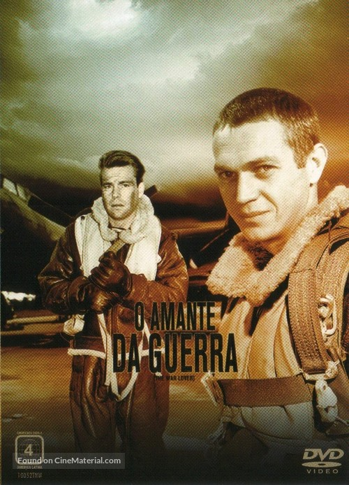 The War Lover - Brazilian DVD movie cover