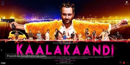 Kaalakaandi - Indian Movie Poster